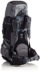 Deuter Aircontact Pro Backpack (All Sizes, Colors) (Black/Titan, 70 + 15)