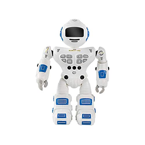 Intelligent Programmable Robot with Infrared Controller Toys, LED Eyes,Dancing, Singing, Gesture Sensing Robot Kit with Bluetooth&Sound Recording,Gifts for Boys Girls Teens from Wenjuan