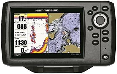 Humminbird Helix 5 Chirp GPS G2 Echolot (83/200 KHz) Portabel ...