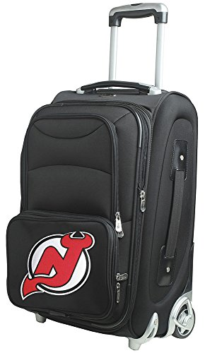 nhl-new-jersey-devils-in-line-skate-wheel-carry-on-luggage-21-inch-black