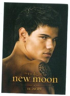 Taylor Lautner trading card Twilight New Moon 2009 Summit PC#4 Jacob Black
