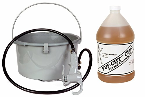 Toledo Pipe 418 Oiler 10883 & 1 Gallon of Tuf-Cut Clear Oil fits RIDGID 300 535 700 12R 690 Pipe Threading Machine