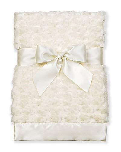 Bearington Baby Small Swirly Security Blankie (Cream) 16