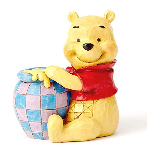 Jim Shore Disney Traditions Mini Winnie The Pooh Pot of Honey Figurine 4054289 ()
