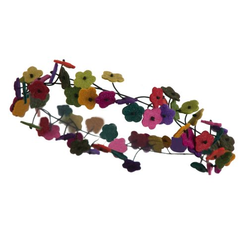 Flower Chain Elastic Headband - Multi OSFM