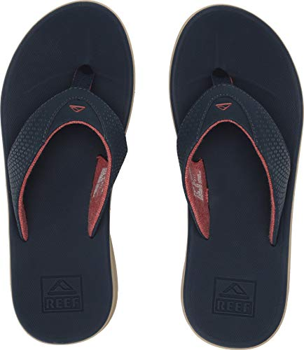 (Reef - Mens Rover Sandals, Size: 5 D(M) US, Color: Navy/Red )
