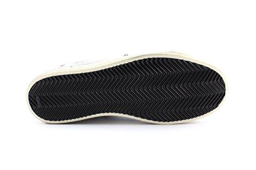 Sneaker P448 E7JOHN WHT/RED - Size:46
