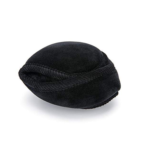 Men Earmuffs Winter Foldable Fleece Warm Ear Warmers Unisex Adjustable Ear Muffs for Outdoor Skiing,Biking,Running
