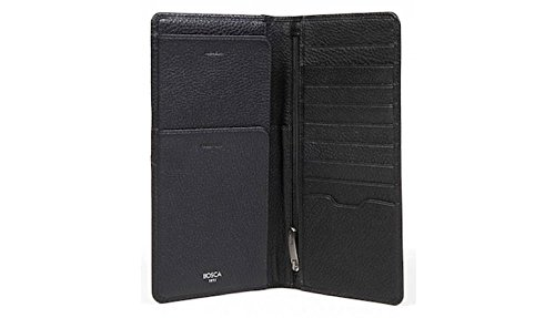 Bosca Tribeca Leather Flight Attendant Travel Organizer by Bosca