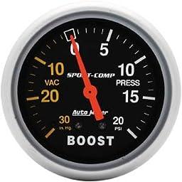 Auto Meter 3401 0-20/0-30 TURBO BOOST