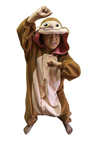 Best Old School Halloween Costumes (Japanese Monkey Kigurumi (2-5 Years))