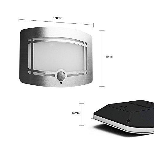 signstek 10 led wireless light operated motion sensor import it all. Black Bedroom Furniture Sets. Home Design Ideas