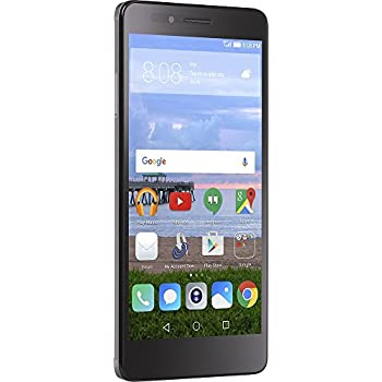 Simple Mobile - Huawei Sensa 4G LTE with 9.5GB Memory Prepaid Cell Phone - Gray