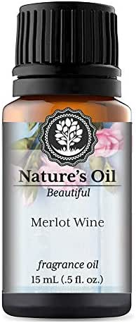 Merlot Wine Fragrance Oil (15ml) For Perfume, Diffusers, Soap Making, Candles, Lotion, Home Scents, Linen Spray, Bath Bombs, Slime