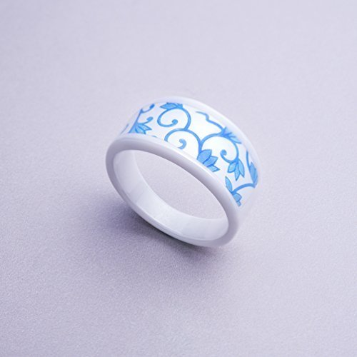 Keydex NFC Multi-function Ring #12 (2.10 In), Fine Ceramic, Waterproof Patent [Tax Excluded] by Keydex