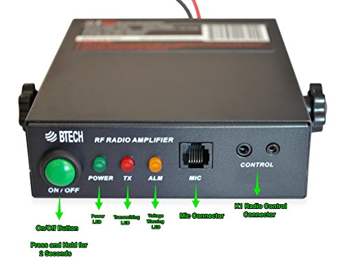BTECH AMP-U25D Amplifier (Supports DMR) UHF (400-480MHz), 20-40W Output (2-6W Input), Analog and Digital Modes, Compatible with all Handheld Radios: BTECH, BaoFeng, Kenwood, Yaesu, ICOM, Motorola by BTECH (Image #3)