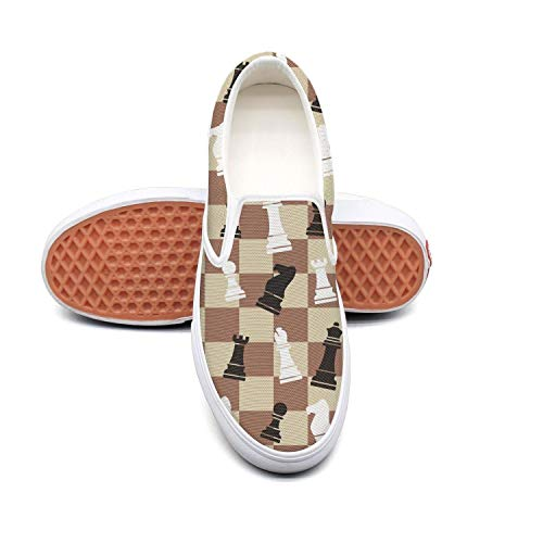 - Wood squares checkerboard white Boy Sneakers for Men Low Top Quick-Drying Lace-Up Running Shoes