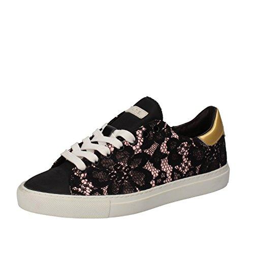 D.A.T.E. Date Sneakers Donna 37 EU Nero Tessuto
