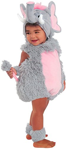 Princess Paradise Baby Elsa The Elephant Deluxe Costume, Grey/Pink, 6 to 12 Months