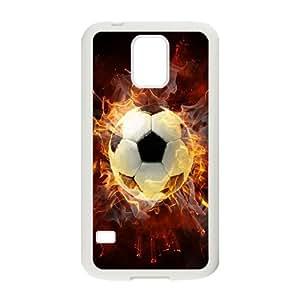 High Quality {YUXUAN-LARA CASE}Love Sports - Football For Samsung Galaxy S5 STYLE-18