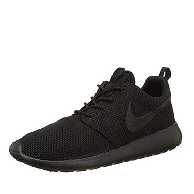 New Men's Nike Roshe One Sneaker (10.5, Volt/black/white)