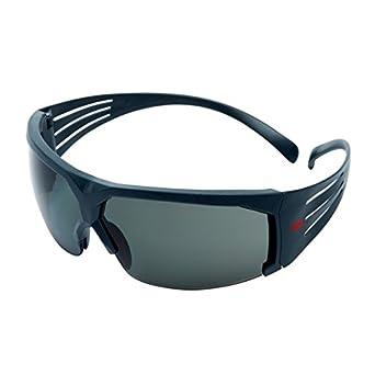 Amber Lens Grey frame 3M SecureFit Safety Glasses Scotchgard Anti-Fog SF603SGAF-EU