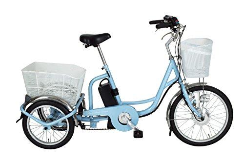 미무고 (MIMUGO) 아 시 등 # 찰리 어시스트 미와 자전거 MG-TRM20EB 라이트 블루