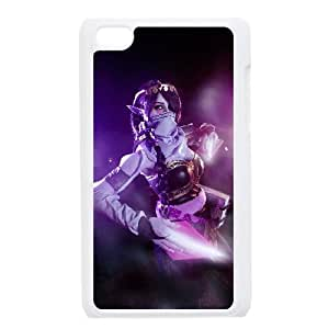 League of Legends(LOL) TEMPLAR ASSASSIN iPod Touch 4 Case White DIY Gift pxf005-3615920