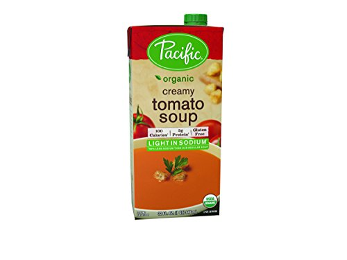 - Pacific Natural Foods Organic Soup Creamy Tomato -- 32 fl oz