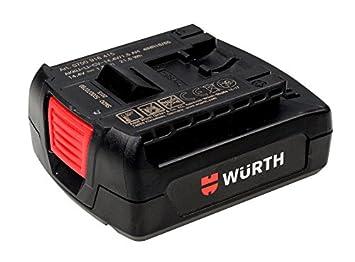 Batería Würth Ion de CV 14.4 V/1.5 Ah tipo: 0700916415 btrypck de ion de CV de Light Master * Nuevo *