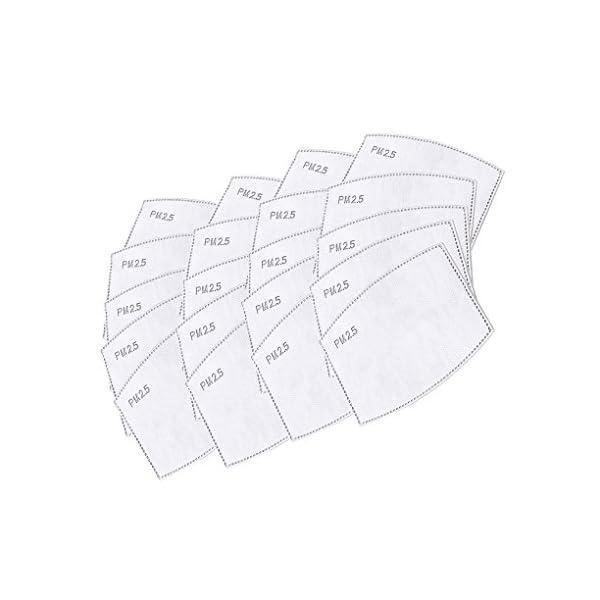 Mascarilla anticontaminación de grado militar N99. Mascarilla lavable de algodón y con filtro reemplazable. El paquete incluye una mascarilla y 8 filtros. De Lyanty 1
