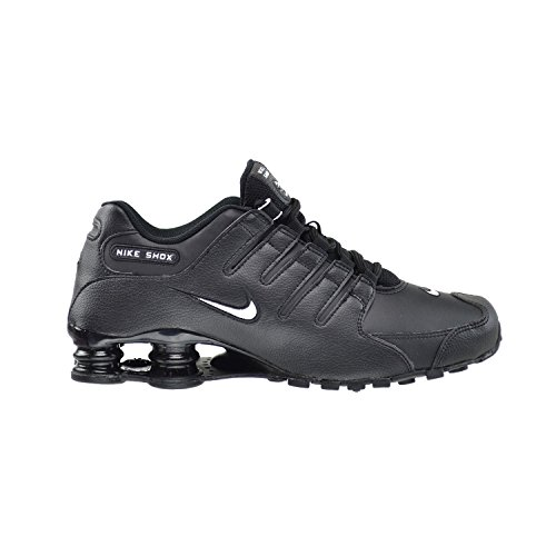 Nike Men's Shox NZ Running Shoe Black/White/Black - 12 D(M) US