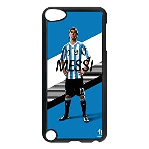 Ipod Touch 5 Cases Lionel Messi Argentina #10 Protective Cute For Girls, Ipod Touch 5 Cases For Girls Cheap Yearinspace, [Black]