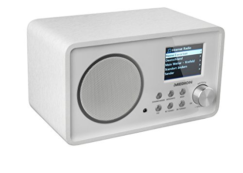 MEDION LIFE E85052 (MD 87267) Wireless LAN Internet-Radio (DLNA, UPnP, WLAN) weiß