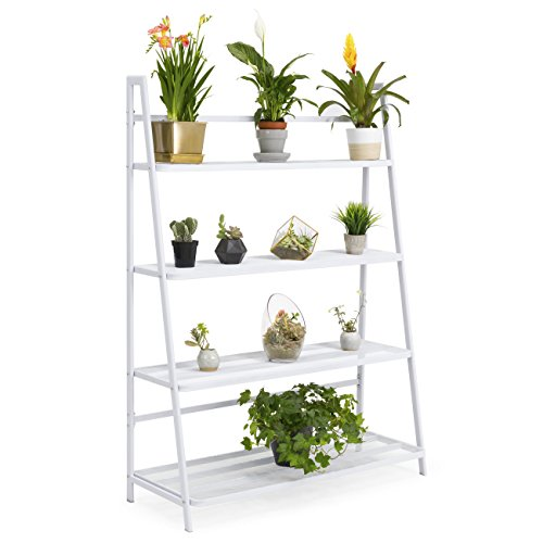 Best Choice Products Mesh Flower Pot Stand Shelving (White) by Best Choice Products