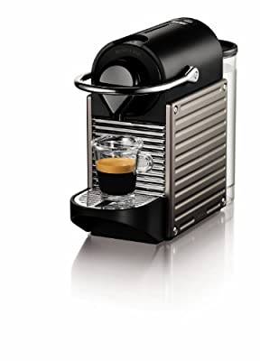 Nespresso Pixie Espresso Maker, Electric Titan from Nespresso