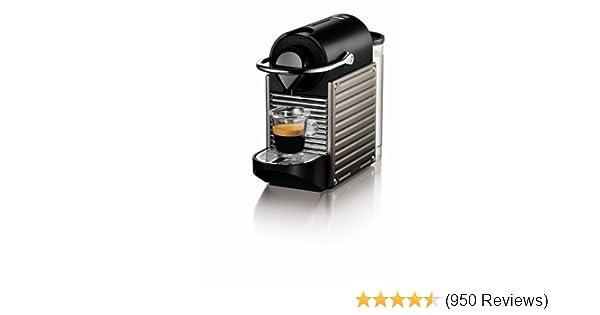 Amazon.com: Nespresso Pixie Espresso Maker, Electric Titan (Discontinued Model): Super Automatic Pump Espresso Machines: Kitchen & Dining