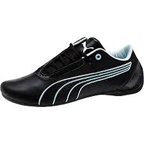 07b4763bf8e9 PUMA Womens Future Cat S1 Fast Shoes Black-Black-Omphalodes (US 10 ...