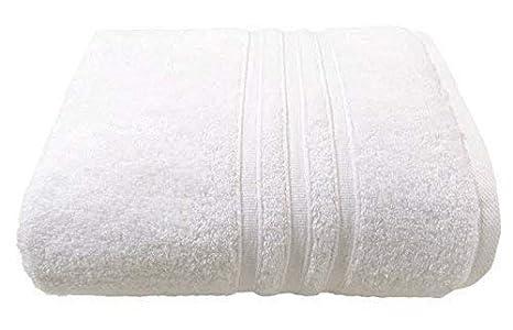 3X Hotel Hospedaje Calidad Franjas Blancas Suave Cero Torceduras 100% Cotton 600Gsm de Mano Baño Sábana Toallas: Amazon.es: Jardín