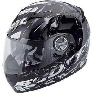 Scorpion EXO-500 Oil Helmet - X-Small/Black