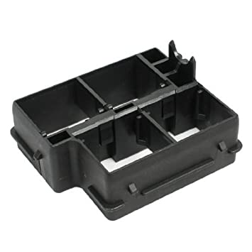water wood 24382 4m470 right relay block fuse box cover base spare rh amazon co uk car fuse box cleaner
