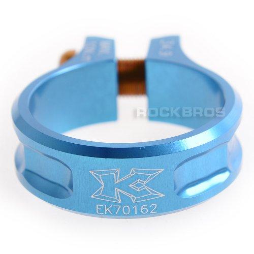 KCNC MTB Seatpost Seat Post Clamp Scandium Alloy Bolt SC11 Blue 34.9mm