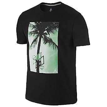 Jordan Men's Paradise T-Shirt Black (Small)