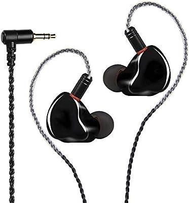 Ainoke - Auriculares in-Ear con Cable de 3,5 mm, cancelación de ...