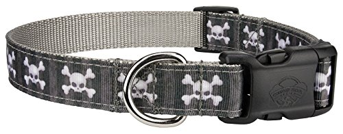 Country Brook Design | Deluxe Nytemare Ribbon Dog Collar - Small