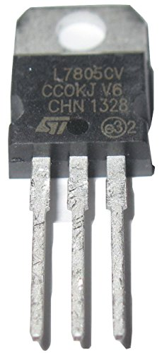 L7805CV L7805 Positive Voltage Regulator Output 5v TO-220 Package 6 Pack (220 Regulator Voltage)