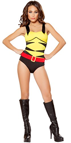 [X-Men: Origins Girl's Wolverine Halloween Costume - Yellow/Black/Red - Small] (Women X Men Costumes)