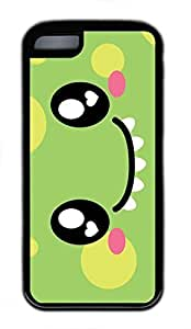 iPhone 5c case, Cute Monster Face iPhone 5c Cover, iPhone 5c Cases, Soft Black iPhone 5c Covers
