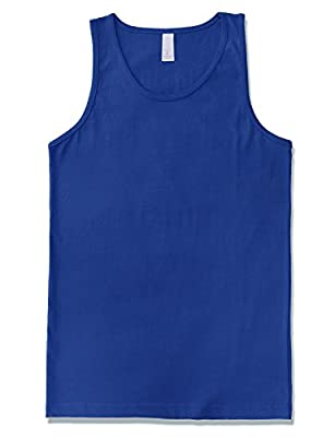 JD Apparel Men's Premium Basic Tank Top Jersey Casual Shirts (Size Upto 3XL)