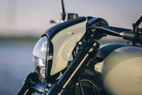 Harley Davidson M8 Softail Breakout Fxsb Street Bob Headlight Fairing Mask 18